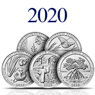 2020 America the Beautiful Silver Coins