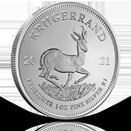Silver Krugerrands