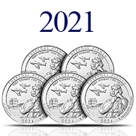 2021 America the Beautiful Silver Coins