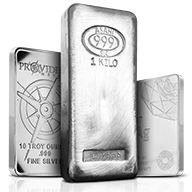 In Stock Silver Bars