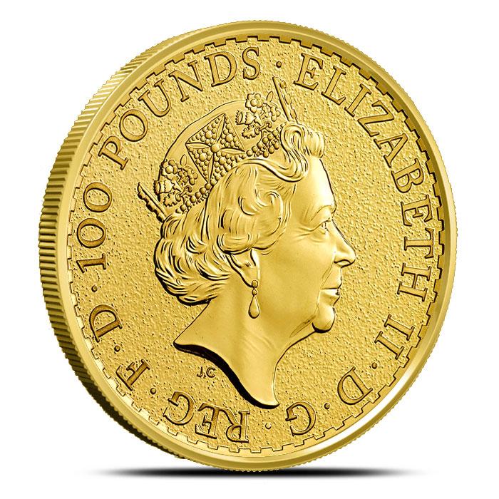 2016 one ounce Gold Britannia