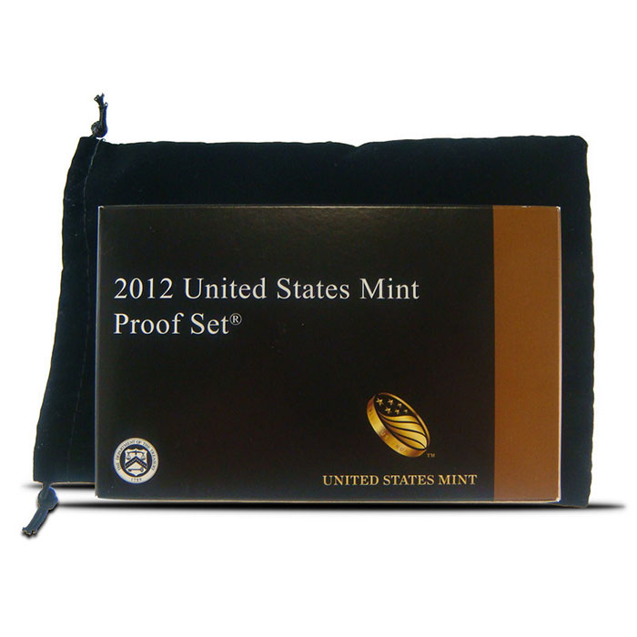 "Black Velour Drawstring Mint Set 5"" x 7.5"" Coin Pouch"