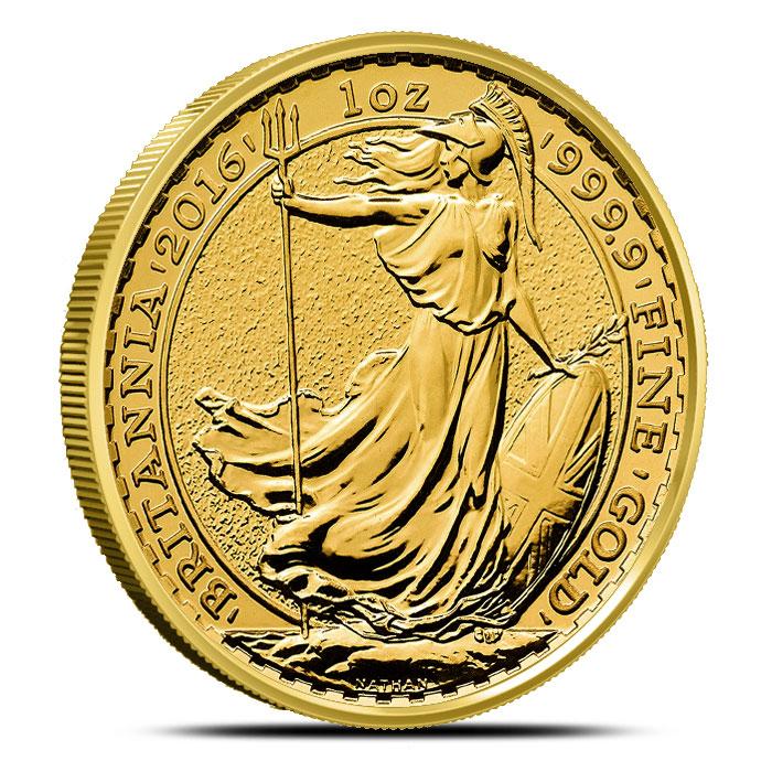 2016 1 oz Gold Britannia