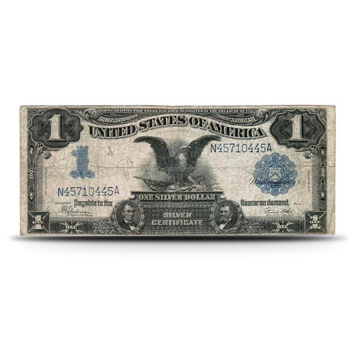 1899 Black Eagle $1 Silver Certificate VG+