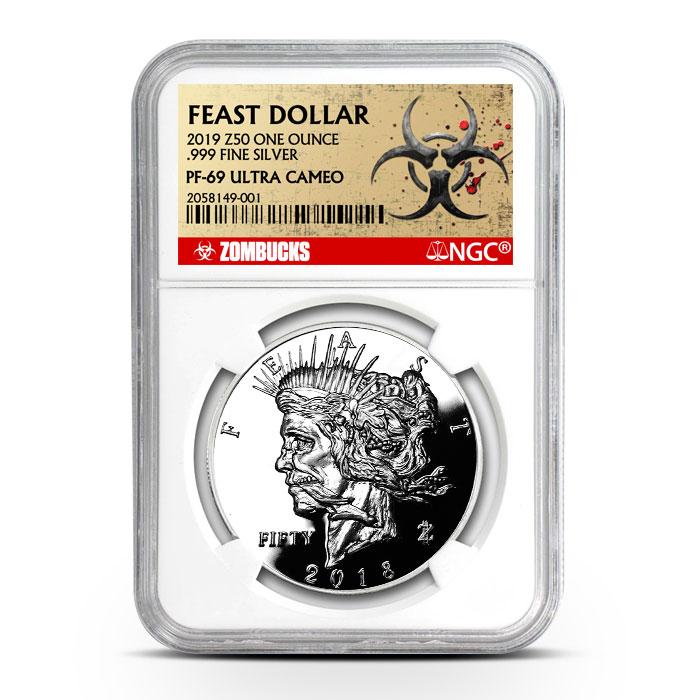 Zombucks Dollar | NGC PF69