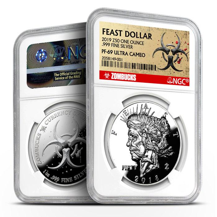 Zombucks Feast Dollar | NGC PF69