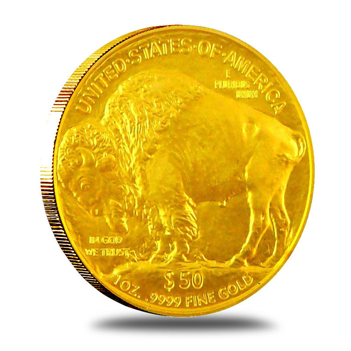 2007 1 Oz Gold Buffalo Coin Reverse