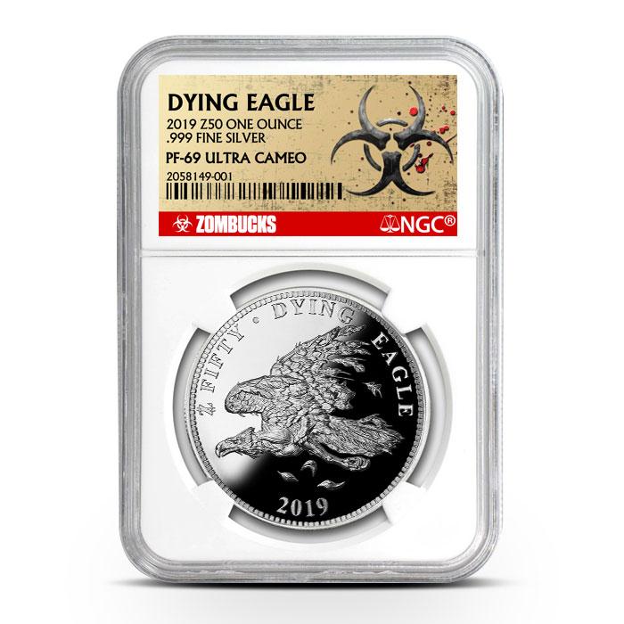 Zombucks Dying Eagle | NGC PF69
