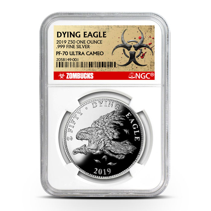 Zombucks Dying Eagle | NGC PF70