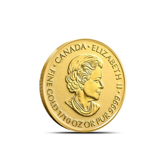 Canadian 1/10 oz Gold Devil