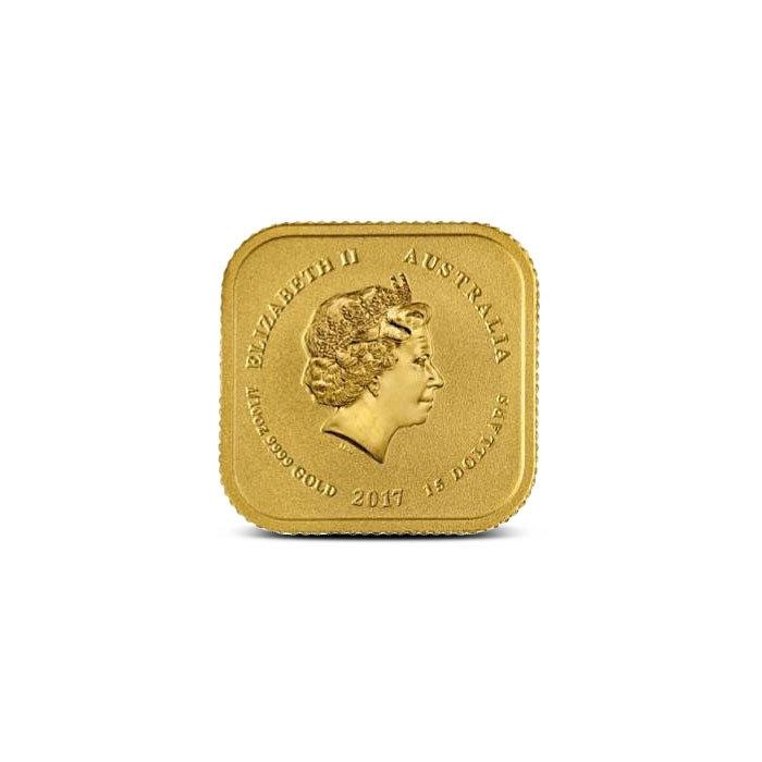 1/10 oz Australian Legal Tender Gold Unit Reverse