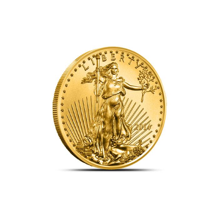 2014 1/10 oz American Gold Eagle