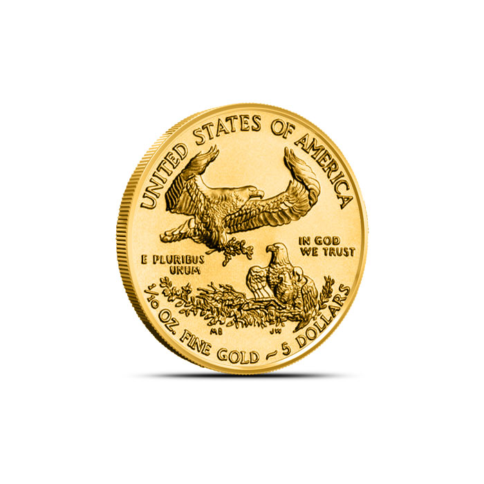 2014 1/10 oz American Gold Eagle Reverse