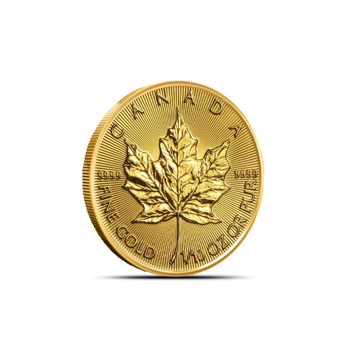 2019 Canadian 1/10 oz Gold Maple Leaf