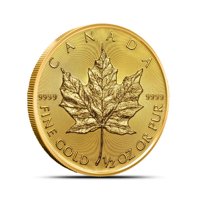 2018 1/2 oz Canadian Gold Maple Leaf