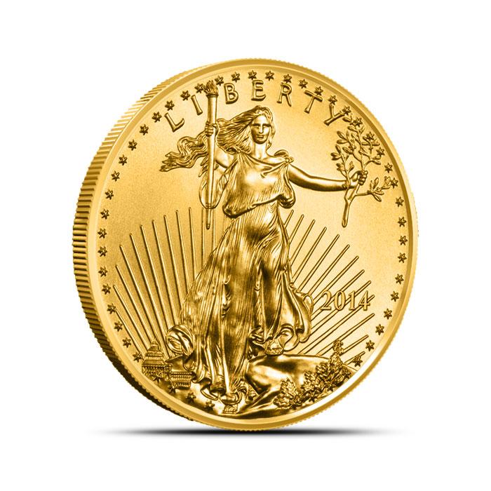 2014 1/2 oz American Gold Eagle