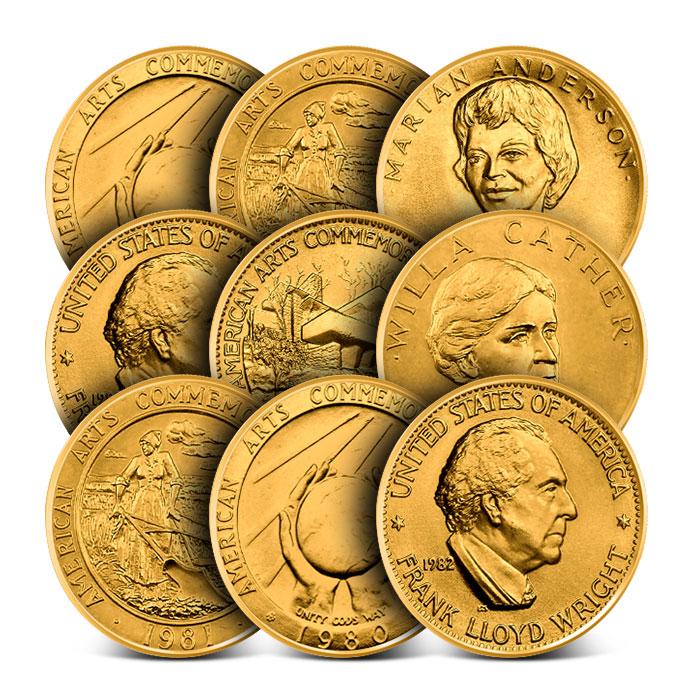 1/2 oz Gold Postal Commemorative Arts