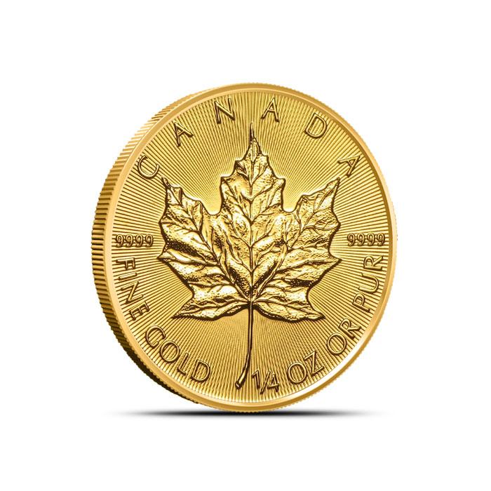 2018 1/4 oz Canadian Gold Maple Leaf