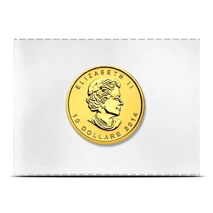 1/4 oz Gold Coin Canadian Artic Fox