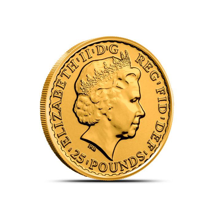 Great Britain 1/4 oz Gold Britannia