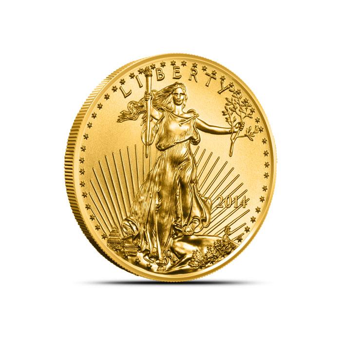 2014 1/4 oz American Gold Eagle