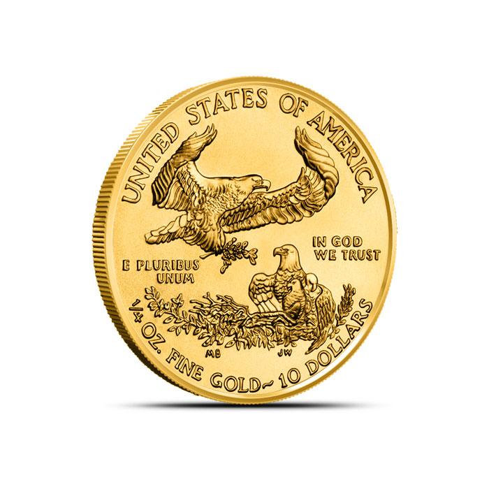 2014 1/4 oz American Gold Eagle Reverse