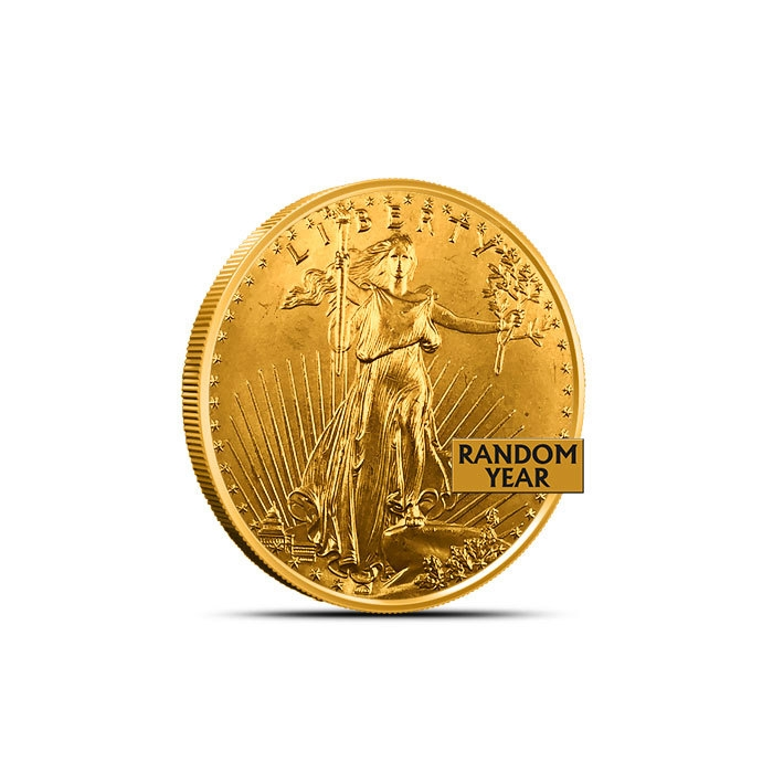 1/4 oz American Gold Eagle Low Premium Obverse