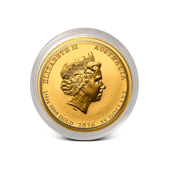Perth Mint 1/4 oz Gold - Vistory in the Pacific Coin