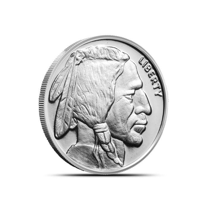 1/4 oz Silver Buffalo Round Front