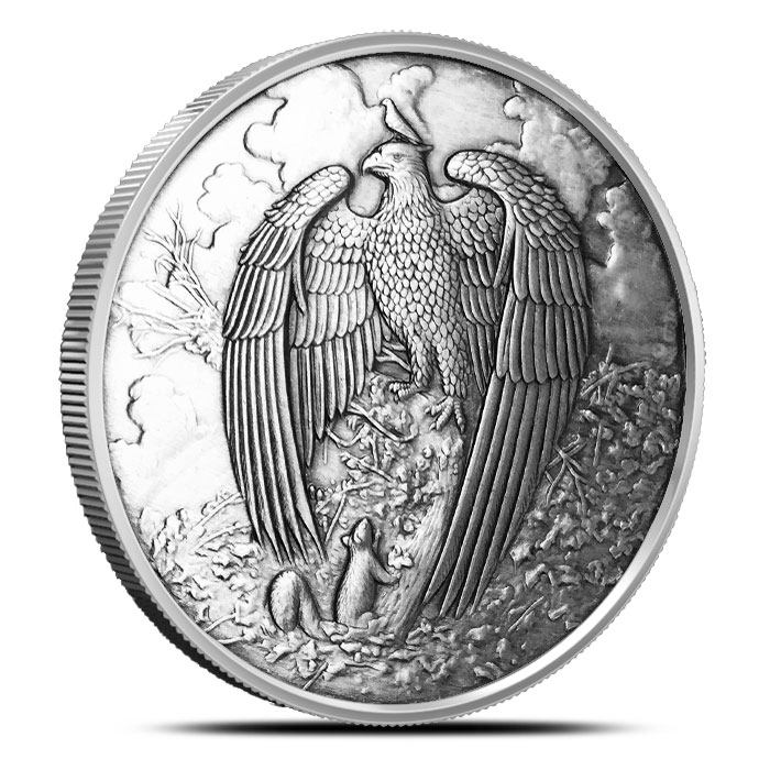 Great Eagle Silver Round