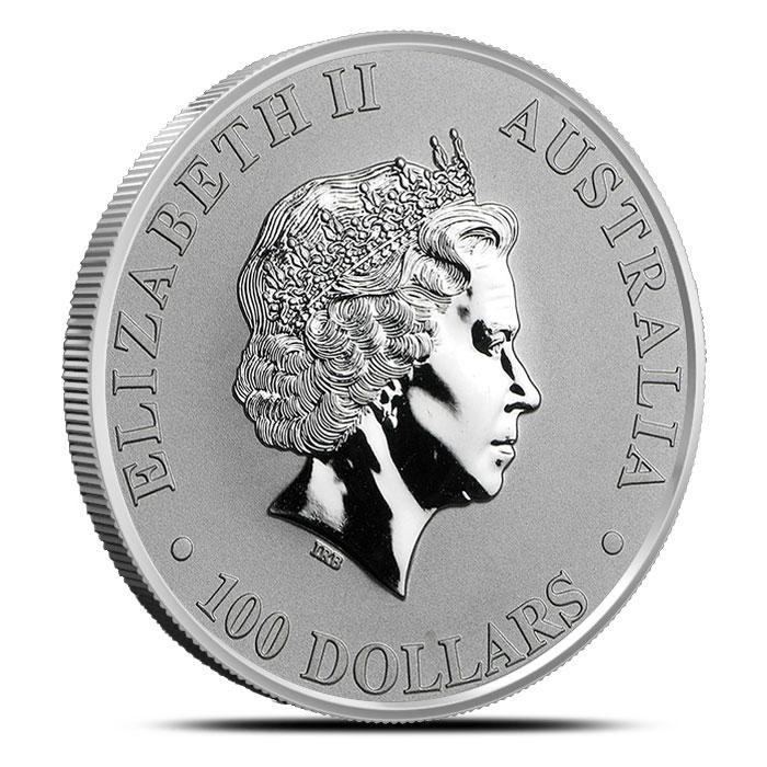 1 oz Perth Mint Platinum Platypus Reverse