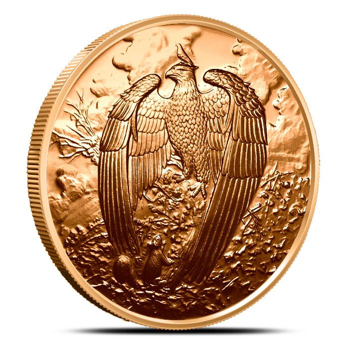 Great Eagle Copper Round