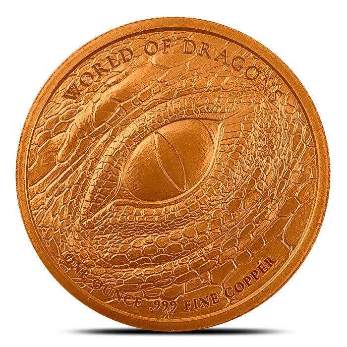 The Norse 1 oz Copper Round Back
