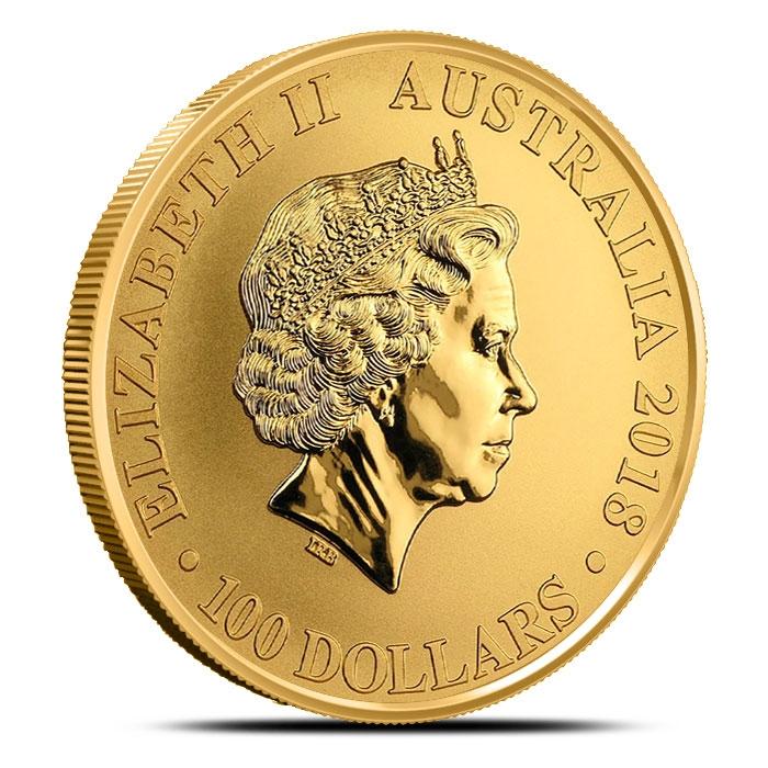 2018 Australian 1 oz Gold Bird of Paradise Coin