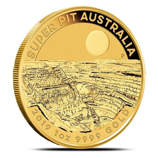 2019 a oz Gold Super Pit Coin Reverse
