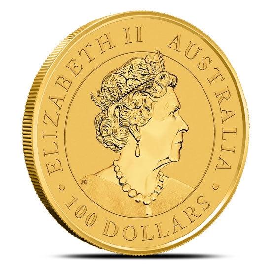 2019 1 oz Gold Super Pit Coin Obverse