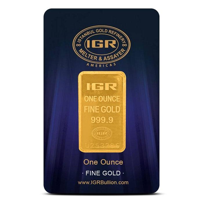 1 oz Gold Bar | Istanbul Gold Refinery
