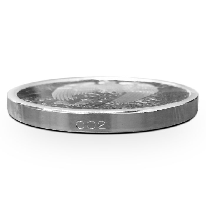 Great Eagle Proof Silver Round | Edge Number