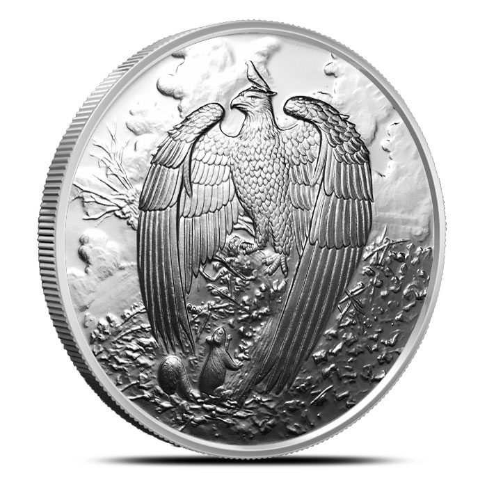 Great Eagle Proof Silver Round