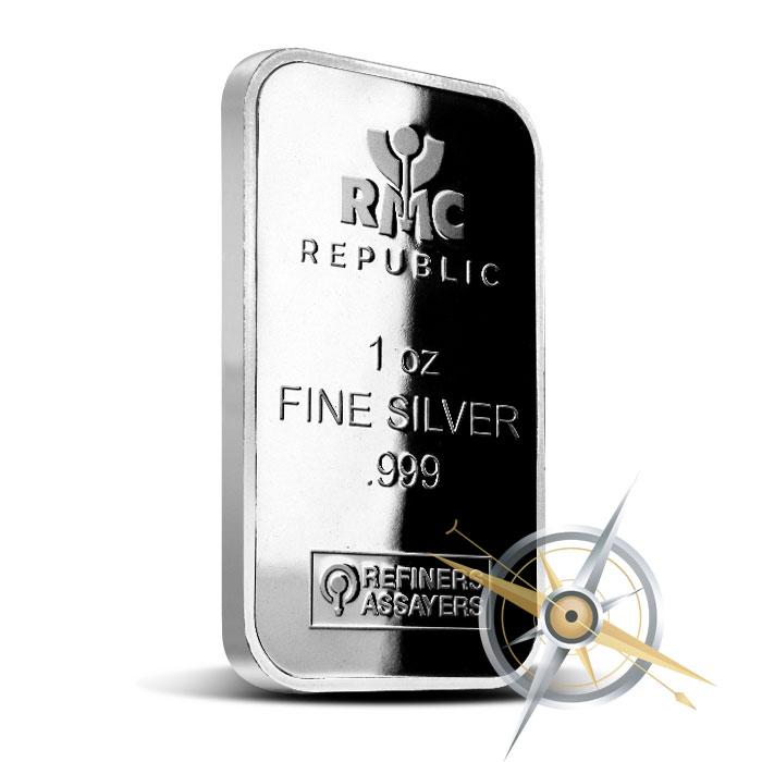 1 oz Silver Bar | RMC