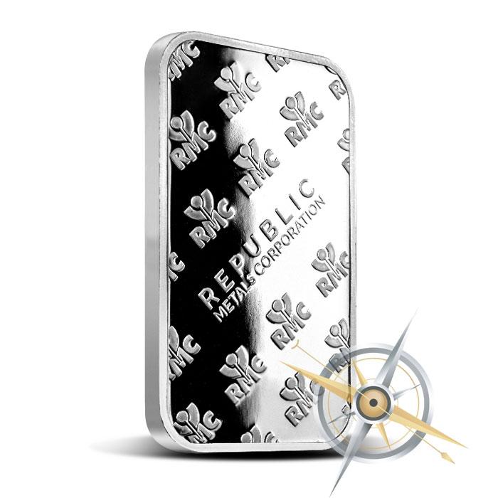 1 oz Silver Bar | Republic Metals