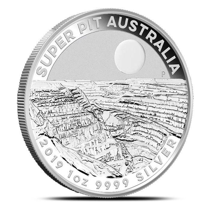 2019 Perth 1 oz Silver Super Pit Coin Reverse