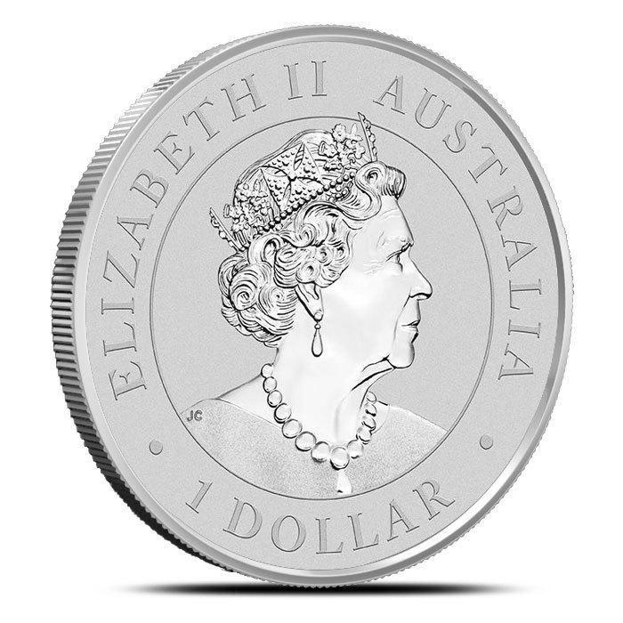 2019 Perth 1 oz Silver Super Pit Coin Obverse
