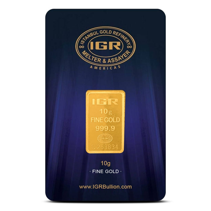10 gram Gold Bar | Istanbul Gold Refinery
