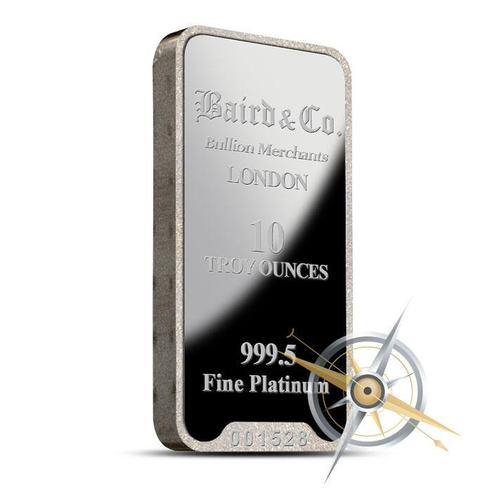 10 oz Baird Platinum Bar