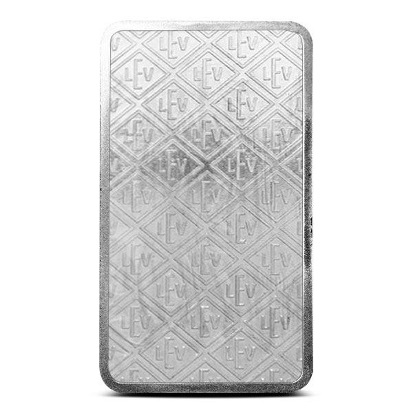 Geiger 10 oz Silver Bar Reverse