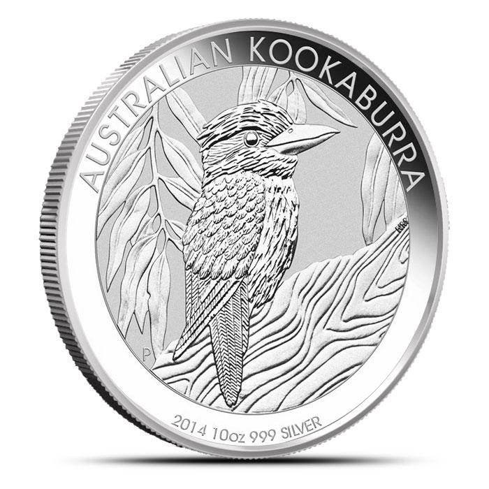 2014 10 oz Silver Kookaburra