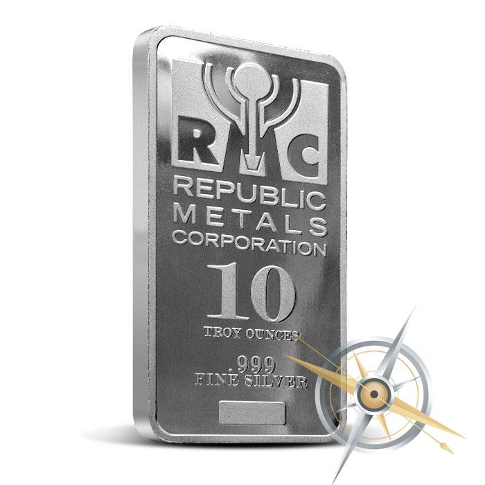 10 oz Silver Bar | RMC