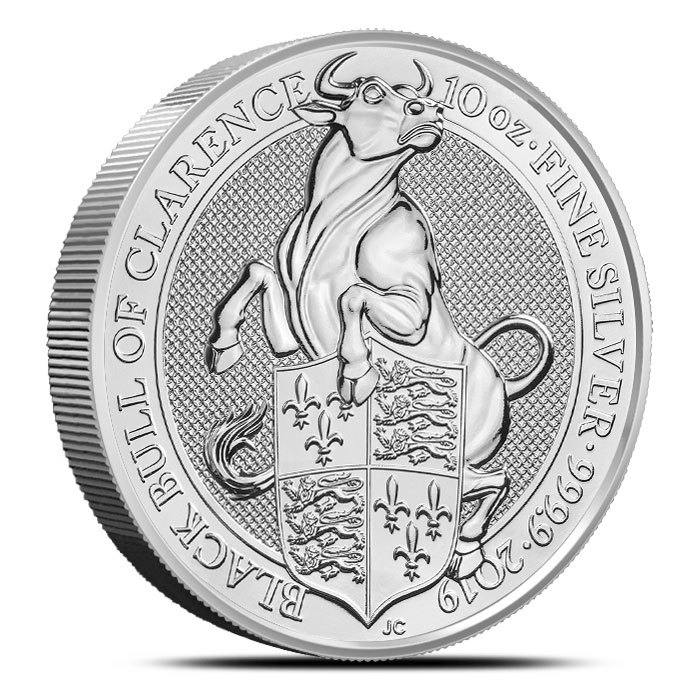 2019 British 10 oz Silver Queen
