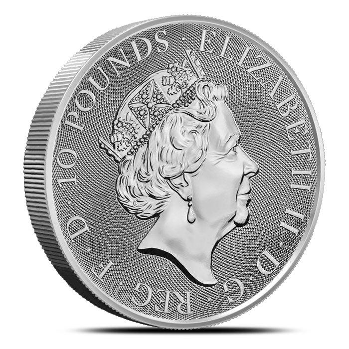 2019 British 10 oz Silver Queen